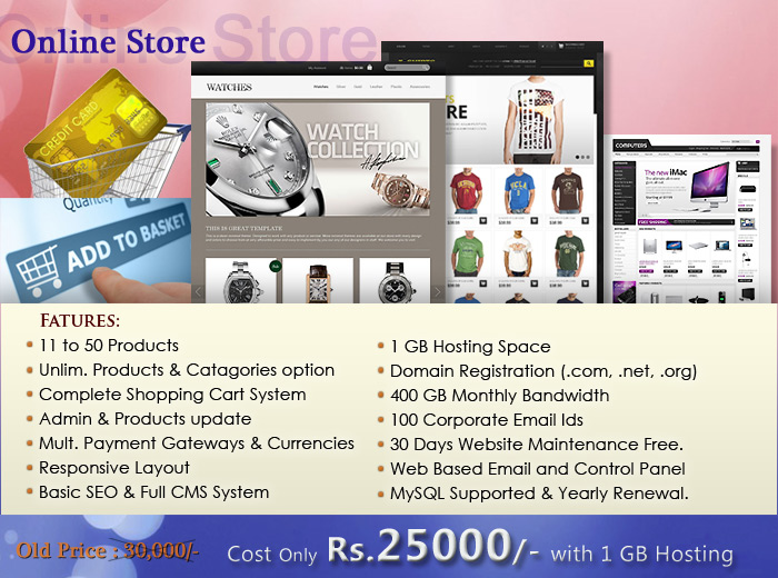 ecommerce web designer in karachi